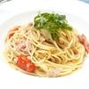 めんつゆで簡単!ツナとトマトの和風パスタの作り方・レシピ