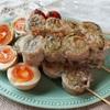 【レシピ】豚バラと大葉のくるくる串焼き