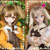 DDH-01(フレッシュ肌)&DDH-09(フレッシュ肌)<ナギ作DDカスタムヘッド>