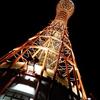 高さ108mの神戸ポートタワーからの眺望とライトアップ