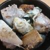 ブリと肉豆腐
