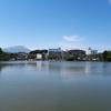 高松の池。四国ではなく盛岡(やや)郊外にあるオアシス的スポット。日本さくらの名所100選のひとつ。