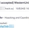 某所でユーザー情報流出してから来るようになったspamだと思う