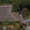 京都美山町のかやぶきの里を尋ねる。奇跡的に残っている日本の原風景が幻のように見えた。