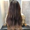 濃いめグレージュ×純度100%髪質改善エステ