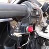 愛車のVFR750F(RC36) 自作ハザードスイッチ移設工事が完了しました