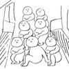 満員電車で掴む所がないときの対処法を考える。