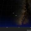 「木星にエウロパ(ガリレオ衛星)の影」2020年10月10日 19:00~21:40頃 見えるかも?!
