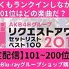 8月4日にリクエストアワー2017「200位〜176位」をSRで限定配信!