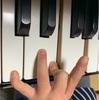 指が•••(°Д°)