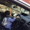運転席がお気に入り。