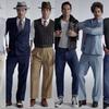 3分で100年間の男性ファッションの変遷が分かる映像