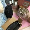 家の荷物が史上最強に多すぎて、参った。こんなに自分荷物あったのかと固まりました。