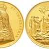 イギリス1887年ヴィクトリア女王戴冠50年記念メダル