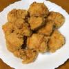 鶏胸肉の唐揚げを夕食に決定 雨の日も運動は怠らず