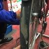 自転車タイヤがズルっと剥がれた・・・