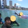 【ワイキキビーチで思いっきり海遊び】ファミリーでハワイ旅行㉔