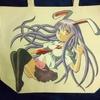 ここん所、ブログも書かずに描いていたのは手描きイラストバッグです~東方甲州祭10に持って行きます
