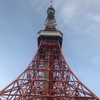 6月19日(火)hatenaより正面からの東京タワー。
