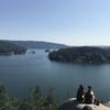 (バンクーバー観光)ディープコーブの美しい景色。観光するなら絶対行くべき