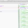 Monodevelopでソースコードの差分を確認する