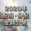 【目指せ配当長者】2020年1年間の配当金総収入額を計算してみる