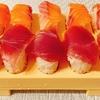 100日目!とびだせおすしでおうち寿司を楽しんだ( *´艸`)