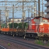 モリ201系廃車回送を撮る。