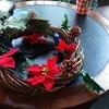 男の私でも作れた100均商品で作れたクリスマスリース