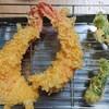 【春野菜の天ぷら】タラの芽とエビ