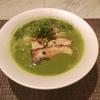 緑色のスープ?謎の色のラーメン!!!