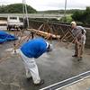 【DIY】タープとブルーシートで倉庫づくり。