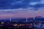 NHK室蘭放送局の屋上から室蘭夜景を眺めてきた!!