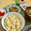 5/31朝玄米いわし 昼ささみブロッコリー  @減量めし