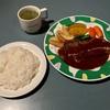 🚩外食日記(476)    宮崎   「カフェ・ド・シュウ」③より、【サービスステーキ(ディナー)】‼️