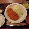 「さくら亭」の「ロースカツ定食」