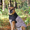 手編みのツイードセーター