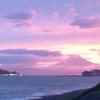 夕陽を見てナポリを思い出し、向かったところ