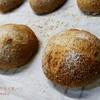 美味しい煎茶とスモモ酵母でライ麦パン