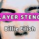 ステンシルでビリーアイリッシュを作ってみた。しかも7レイヤーで。