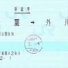 銚子電気鉄道の乗車券