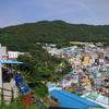 釜山で観光とグルメ。海東龍宮寺と甘川文化村。