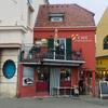 グラーツの「ムーア川沿いの赤いカフェ」と「こだわりのコーヒー屋さん」
