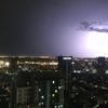 バンコク旅行  雷雨のなかマリオット スクンビット45階のルーフトップバー OCTAVE(オクターブ)へ