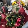 昨日はおかんの誕生日。花喜んでもらえたかな。