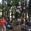 林の中でのコンサート〜 スイスから、ひとコマ