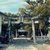 一日一撮 vol.498 梅を求めて春日神社:住宅地に囲まれて