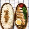 20190318鶏の黒酢照り焼き弁当&寝癖