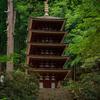 2度目の室生寺での撮影。