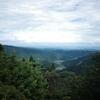 御岳発、日の出【 低い山を歩く】